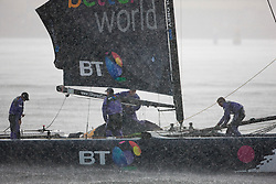 Kiel - Germany, 29th of August 2009. iShares cup. Second day of racing...