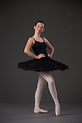 Kaylee Arca poses during her Ballet Portrait Session in Los Gatos, California, on July 22, 2015. (Stan Olszewski/SOSKIphoto)