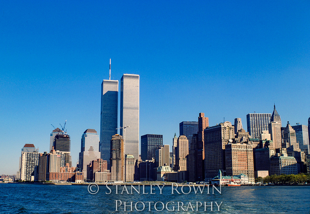 Archive Photo of World Trade Center in 1986