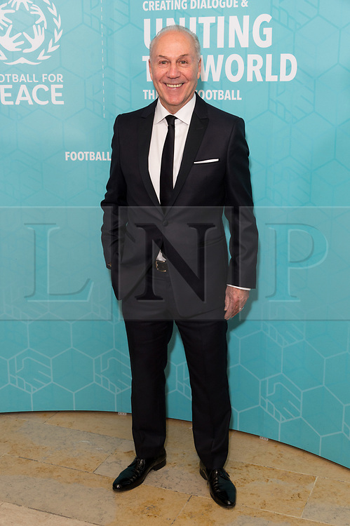 © Licensed to London News Pictures. 17/11/2017.  London, UK. Bournemouth FC Chairman JEFF MOSTYN attends the Football For Peace Inaugural Ball held at Guildhall. Photo credit: Ray Tang/LNP