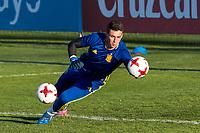Kepa Arrizabalaga during the training of Spanish national team under 21 at Ciudad del El futbol  in Madrid, Spain. March 21, 2017. (ALTERPHOTOS / Rodrigo Jimenez)