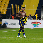 Fenerbahce's Emmanuel Emenike during their Turkish superleague soccer derby Fenerbahce between Besiktas at the Sukru Saracaoglu stadium in Istanbul Turkey on Sunday 22 March 2015. Photo by Aykut AKICI/TURKPIX