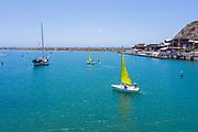 Sailing in Dana Cove by Ocean Institute