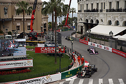 May 26, 2019 - Monte Carlo, Monaco - xa9; Photo4 / LaPresse.26/05/2019 Monte Carlo, Monaco.Sport .Grand Prix Formula One Monaco 2019.In the pic: Kevin Magnussen (DEN) Haas F1 Team VF-19 and Lance Stroll (CDN) Racing Point F1 Team RP19 (Credit Image: © Photo4/Lapresse via ZUMA Press)