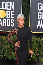 January 6, 2019 - Los Angeles, California, U.S. - Jan 6, 2019 - Beverly Hills, California, U.S. - Sibley Scoles during red carpet arrivals for the 76th Annual Golden Globe Awards at The Beverly Hilton Hotel..(Credit: © Kevin Sullivan via ZUMA Wire) (Credit Image: © Kevin Sullivan via ZUMA Wire)