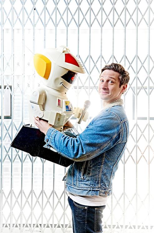 Amsterdam 18-03-16 Emilio Guzman Cabaretier Theatermaker ©Marco Hofste