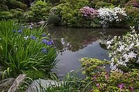 Samurai Home <br /> Pond Garden at Kanra, Gunma.
