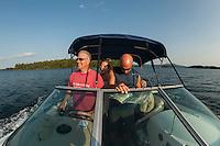 Hike up Rattlesnake Island followed by dinner on Bear Island, Lake Winnipesaukee.  ©2016 Karen Bobotas Photographer