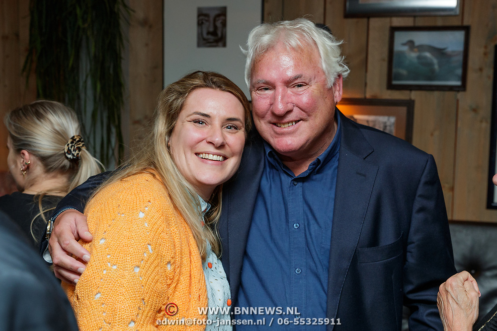 NLD/Amsterdam/20190308 - Boekpresentatie Gerard van der Lem, Gerard en dochter Daan