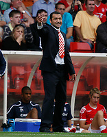 Photo: Steve Bond/Richard Lane Photography.<br />Nottingham Forest v Watford. Coca-Cola Football League Championship. 23/08/2008. Colin Calderwood instructs from the touchline