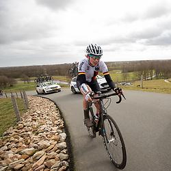 12-03-2021: Wielrennen: Healthy Ageing Tour: Wijster <br />Christa Riffel