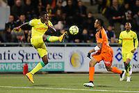 Papi DJILOBODJI / Jordan AYEW - 20.12.2014 - Lorient / Nantes - 17eme journee de Ligue 1 -<br />Photo : Vincent Michel / Icon Sport