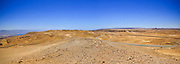 Panorama of The colourful Eilat mountain range