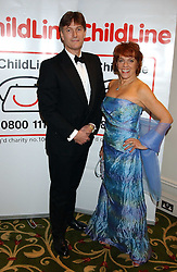 TV presenter and Founder of ChildLine ESTHER RANTZEN and MICHAEL BOWEN at the children's charity ChildLine 19th Birthday Ball held at the Grosvenor House Hotel, Park Lane, London on 29th October 2005.<br /><br /><br />NON EXCLUSIVE - WORLD RIGHTS