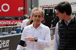 May 25, 2019 - Monte Carlo, Monaco - xa9; Photo4 / LaPresse.25/05/2019 Monte Carlo, Monaco.Sport .Grand Prix Formula One Monaco 2019.In the pic: Alain Prost (FRA) Renault Sport F1 Team Special Advisor (Credit Image: © Photo4/Lapresse via ZUMA Press)