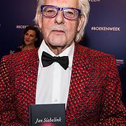 NLD/Amsterdam/20190322  - Boekenbal 2019,  schrijver van het Boekenweekgeschenk Jan Siebelink