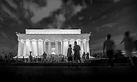 The Lincoln Memorial, Washington D.C., Tuesday July 23, 2013.