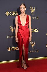 September 17, 2017 Los Angeles, CA Yvonne Strahovski 69th Emmy Awards - Arrivals held at the Microsoft Theatre L.A. Live © OConnor-Arroyo / AFF-USA.com. 17 Sep 2017 Pictured: Yvonne Strahovski. Photo credit: MEGA TheMegaAgency.com +1 888 505 6342