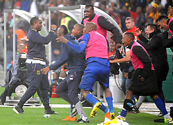 Cape Town 18-03-14  Cape Town city celebrating after winning  against Orlando Pirates nedbank Cup in  Cape Town Stadium Pictures Ayanda Ndamane African news agency/ANA