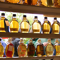 Maple syrup is serious business in Geauga County and the Maple Syrup Contest has some strict criteria. The syrup is rated on a scale of 1 to 10 in four criteria: color, taste, clarity and density. The first two are mostly subjective, but clarity means no cloudiness. Each syrup is measured for density and rated based off how close it is to perfect syrup density.