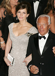 May 05, 2008 - New York, NY, USA - Actress JULIA ROBERTS and designer GIORGIO ARMANI at the arrivals for the 'Superheroes: Fashion and Fantasy' Costume Institute Gala held at the Metropolitan Museum of Art . (Credit Image: © Nancy Kaszerman/ZUMA Press)