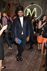 PRINCE CASSIUS at a party to celebrate 25 years of the Magnum ice ream held at home House, 20 Portman Square, London on 26th March 2014.