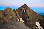 The less familiar eastern face of Mount Sneffels 14,150ft at dawn, Ouray, Colorado