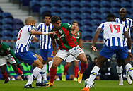 Rodrigo Pinho of Maritimo fights for the ball during the Portuguese League (Liga NOS) match between FC Porto and Maritimo at Estadio do Dragao, Porto, Portugal on 3 October 2020.