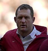 Twickenham, Surrey, 22nd March 2003,  RFU Twickenham Stadium, England, [Mandatory Credit; Peter Spurrier/Intersport Images]<br /> <br /> RBS Six Nations Rugby England v Scotland<br /> Richard Hill