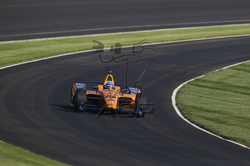The NTT IndyCar Series teams prepare to qualify for the Indianapolis 500 at Indianapolis Motor Speedway in Indianapolis, Indiana.