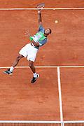 Roland Garros 2011. Paris, France. May 22nd 2011..French player Jo-Wilfried TSONGA against Jan HAJEK.