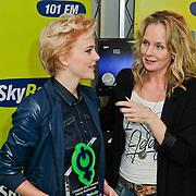 NLD/Naarden/20120307 - Uitriking Sky Radio Powervouwen Awards 2012, Marlayne Sahupala met Stacey Rookhuizen