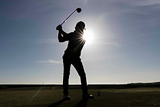 Golf returns to Scotland, Dunbar, 29 May 2020