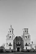 Mission San Xavier del Bac south of Tucson.`