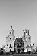 Mission San Xavier del Bac south of Tucson.`