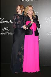 May 18, 2019 - Cannes, France - Caroline Scheufele, Julianne Moore.''Love'' party Chopard in Cannes 2019.. Pictures: Laurent Guerin / EliotPress Set ID: 600942....239424 2019-05-17  Cannes France. (Credit Image: © Laurent Guerin/Starface via ZUMA Press)