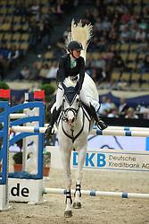 Madenova Maria, (RUS), Kleiner Onkel<br /> DKB-Riders Tour<br /> Grand Prix Kreditbank Jumping München 2015<br /> © Hippo Foto - Stefan Lafrentz