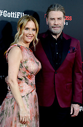 Kelly Preston and John Travolta attending the New York Premiere of 'Gotti' at SVA Theater on June 14, 2018 in New York City, NY, USA. Photo by Dennis Van Tine/ABACAPRESS.COM