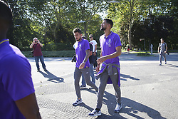 September 18, 2018 - Na - Castrop-Rauxel, 18/09/2018 - Morning walk of the Fc Porto next to the Hotel Vienna House Easy Castrop-Rauxel, Germany. Alex Telles, Vanâ (Credit Image: © Atlantico Press via ZUMA Wire)