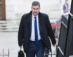 Downing Street, London, November 29th 2016. Chief Secretary to the Treasury David Gauke arrives at 10 Downing Street for the weekly meeting of the UK cabinet.