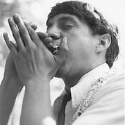 Dave Burkitt, harmonica player