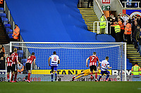 Football - 2019 / 2020 Emirates FA Cup - Fifth Round: Reading vs. Sheffield United<br /> <br /> Reading's George Puscas scores his side's equalising goal from the penalty spot to make the score 1-1, at the Madejski Stadium.<br /> <br /> COLORSPORT/ASHLEY WESTERN