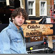 Love Island's Eyal Booker attend Celebs On The Ranch photocall at Jerusalem Bar & Kitchen, on 1st April 2019, London, UK.