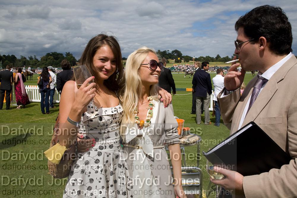 GEORGIE LANGTON; MARTHA WARD, 2008 Veuve Clicquot Gold Cup Polo final at Cowdray Park. Midhurst. 20 July 2008 *** Local Caption *** -DO NOT ARCHIVE-© Copyright Photograph by Dafydd Jones. 248 Clapham Rd. London SW9 0PZ. Tel 0207 820 0771. www.dafjones.com.