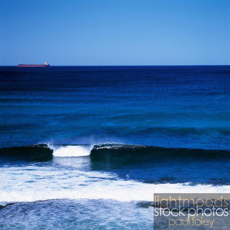 Breaking Wave, Merewether Beach, Newcastle, Australia