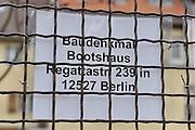 Berlin GERMANY.    Ruder Club Turbine Grunau e.V. -Boathouse on the Regattastrasse, 237.  Berlin Grunau Spring Regatta [Berliner Fruh-Regatta 2010 Berlin-Grunau.].  Saturday   24/04/2010.  [Mandatory Credit. Peter Spurrier/Intersport Images].