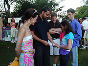 David Blaine, Cynthia Rowley.Ovarian Cancer Research Fund's for a Super Saturday.Private Estate.Southampton, NY, USA.August 07, 2000.Photo by Celebrityvibe.com..