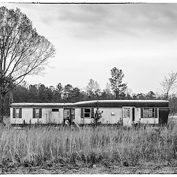 Mobile homes are not often seen as a thing of beauty but in the south for many they are a symbol of the American Dream, to own your own land and have a home.