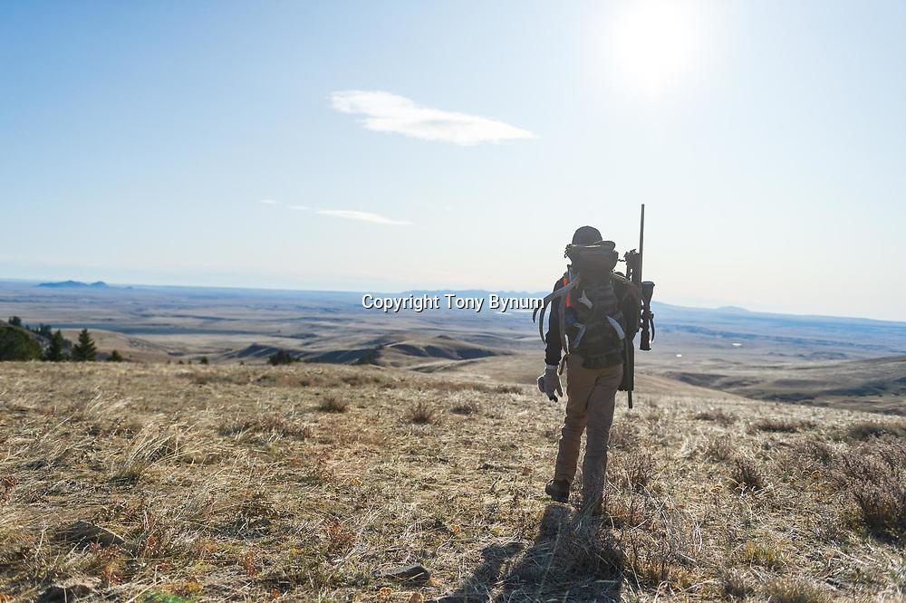 youth muledeer hunter in montana tony bynum