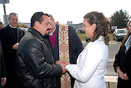 12/7/09 - 11:26:47 AM - FORTESCUE, NJ: Diana & Ken - December 7, 2009 - Fortescue, New Jersey. (Photo by William Thomas Cain/cainimages.com)